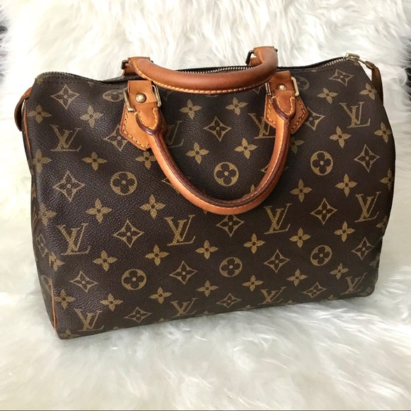 38c63791fa6e Louis Vuitton Handbags - Louis Vuitton Speedy 30 Monogram Satchel Bag